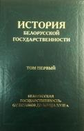 История белорусской государственности. В 5 т. Т. 1 : Белорусская государственность: от истоков до конца XVIII в.